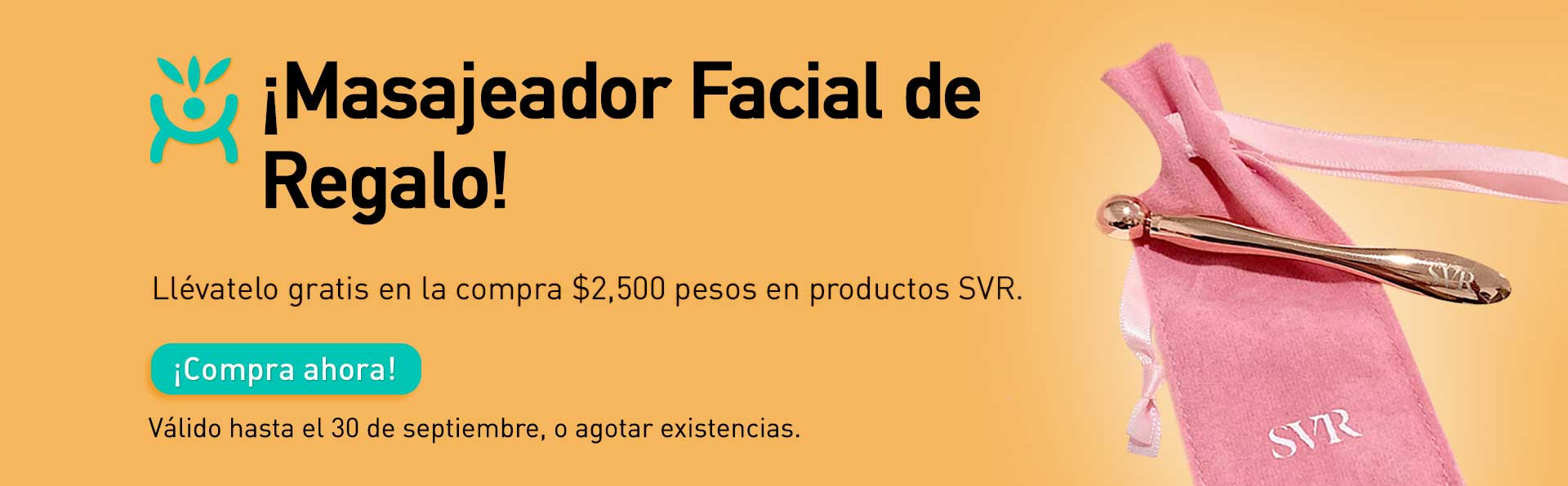 SVR - Masajeador facial septiembre 2021