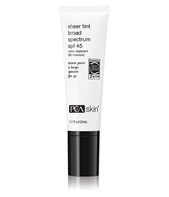 Sheer Tint Protector Solar Fps 45 con Color