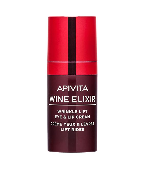Wine Elixir Crema para Ojos y Labios Antiarrugas